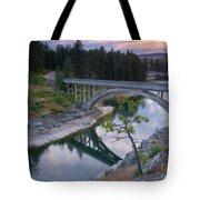 Bridge Reflection Tote Bag