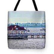 Bridge Street Pier Tote Bag