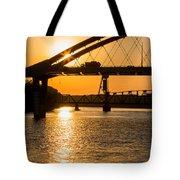 Bridge Sunrise 1 Tote Bag