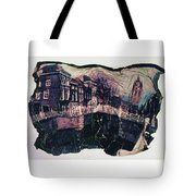 Bridge That Curved, Delft, Holland Tote Bag