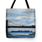 Bridge To Europe Tote Bag
