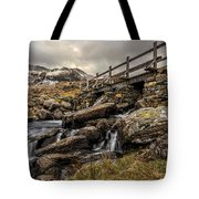 Bridge To Moutains Tote Bag