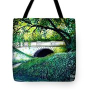 Bridge To New York Tote Bag