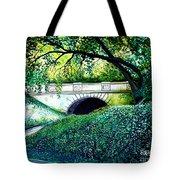Bridge To New York Tote Bag
