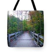Bridge To Paradise - Wissahickon Valley Tote Bag