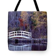 Bridge To Serenity Tote Bag