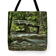 Bridge To Serenity Tote Bag