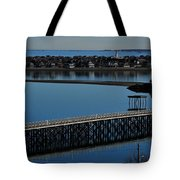Bridge To Spinnaker Island Tote Bag