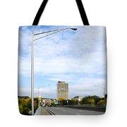 Bridge To The City Binghamton New York Tote Bag