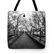 Bridge To The East River Tote Bag