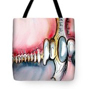 Bridge To The Land Of Hairy Knuckles Tote Bag