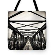 Bridge To The Past Tote Bag