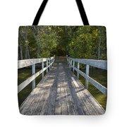 Bridge To Woods 1 Tote Bag