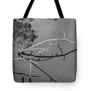 Bridges In Wood Tote Bag