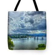 Bridges Of Chattanooga Tennessee Tote Bag