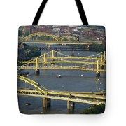 Bridges Of Pittsburgh Tote Bag
