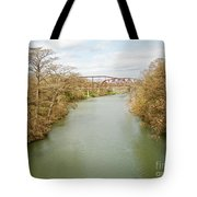 Bridges Over The Guadalupe Tote Bag