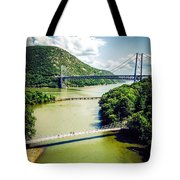 Bridges Through The Valley Tote Bag