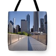 Bridgeway To Chicago Tote Bag