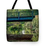 Bridging The Feeder Tote Bag