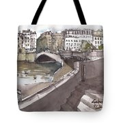 Bridging The Seine Tote Bag