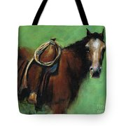 Bridle Ready Tote Bag