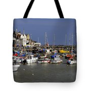 Bridlington Harbour Tote Bag