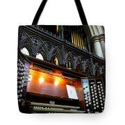 Bridlington Priory Pipe Organ Tote Bag