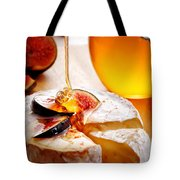 Brie Cheese With Figs And Honey Tote Bag