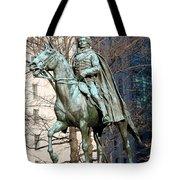 Brigadier General Casimir Pulaski Saved George Washington's Life Tote Bag