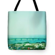 Brigantine Bridge - New Jersey Tote Bag