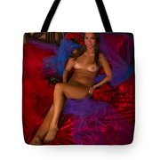 Brigette Recling Nude #4 Tote Bag