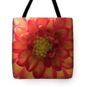 Red And Yellow Flower Bloom Tote Bag
