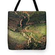 Bright Angel Trail Abstract Tote Bag