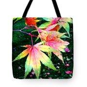 Bright Autumn Leaves Tatton Park Tote Bag