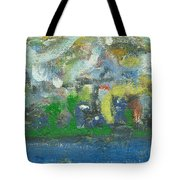 Bright Beach Tote Bag