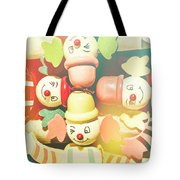 Bright Beaming Clown Show Act Tote Bag