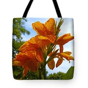 Bright Bloom Tote Bag