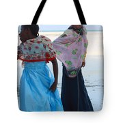 Bright Blue Dress Tote Bag