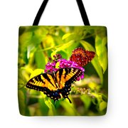 Bright Butterflies Tote Bag