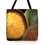 Bright Clementine  Tote Bag