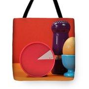 Bright Colorful Breakfast Trio Tote Bag