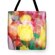 Bright Dreams In The Tulips Tote Bag