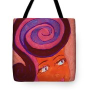 Bright Eyed Beauty Tote Bag
