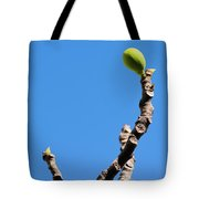 Bright Fig Against The Sky. Tote Bag