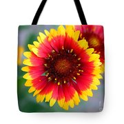 Bright Floral Day Tote Bag