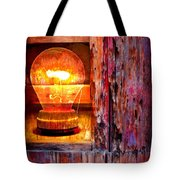 Bright Idea Tote Bag by Skip Hunt