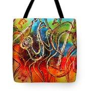 Bright Jazz Tote Bag