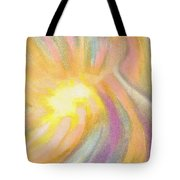 Bright Light Flight Tote Bag