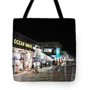 Bright Lights On The Boards Tote Bag
